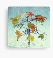 Earth Tree (The Beginnings) Canvas Print
