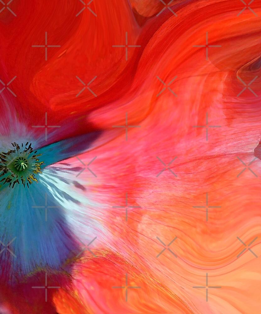 Abstract fantasy of a poppy by marina63