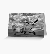 Storm Clouds Gathering - Duxford Flying Legends 2012 Greeting Card