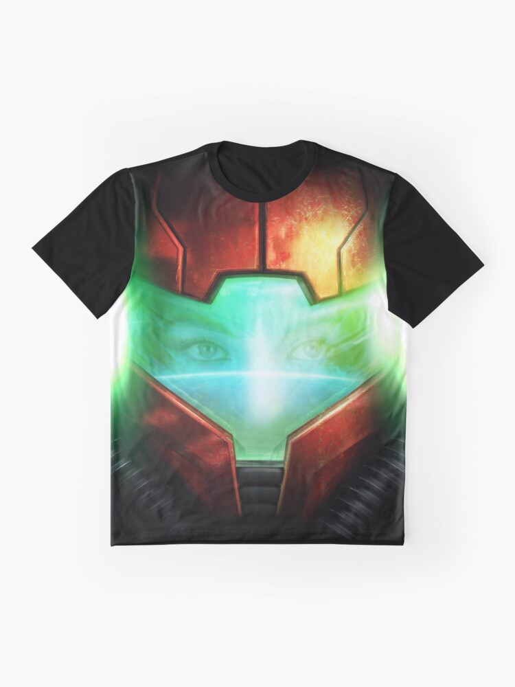 Vista alternativa de Camiseta gráfica Metroid