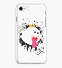 King Boo Splattery Design iPhone Case/Skin