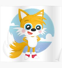 Tails - Sonic Games Poster