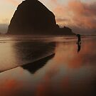 Last Shots at Cannon Beach by Randy Richards