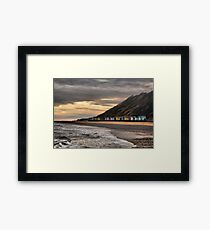 Beach Huts at Cromer  Framed Print