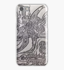 A dream within a dream. Tribute to Gustav Klimt iPhone Case/Skin