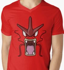 Red Gyarados Men's V-Neck T-Shirt