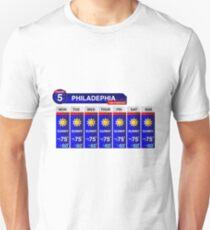 Philadelphia Weather Report T-Shirt