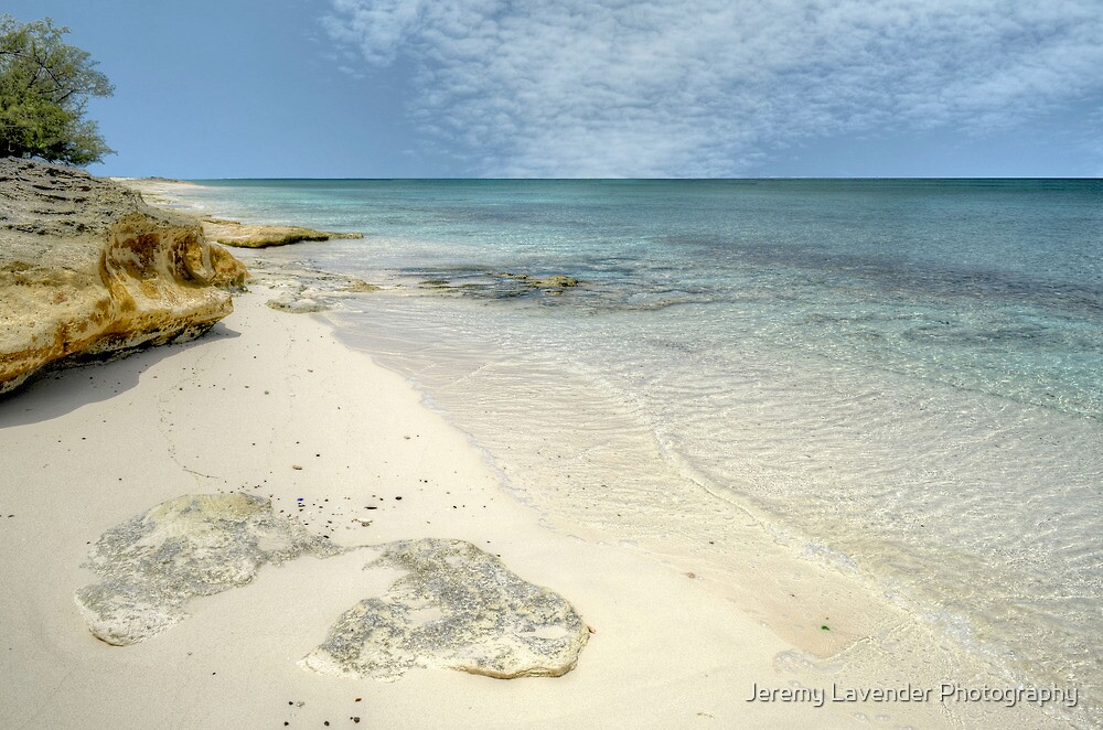 """Love Beach"" in Western Nassau, The Bahamas by Jeremy Lavender Photography"