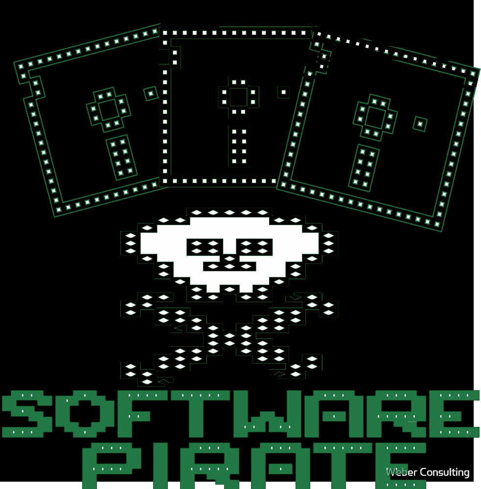 Software Pirate (Old School) by Weber Consulting