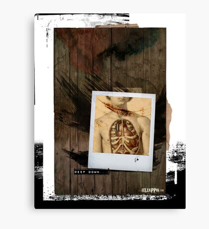 Deep down we are all the same Canvas Print