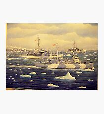 U. S. Coast Guard, Greenland Patrol, WWII Photographic Print
