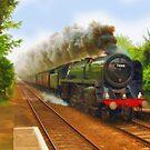 The Return Trip (Locomotive) by Skye Ryan-Evans