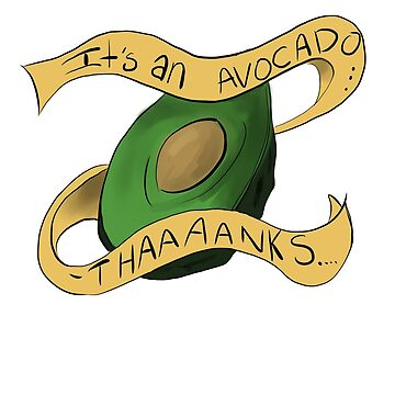 Es ist eine Avocado! von Treeshius