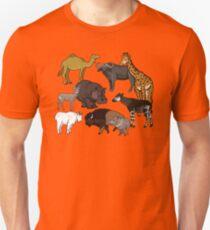 I Am Thankful For Even-Toed Ungulates Unisex T-Shirt