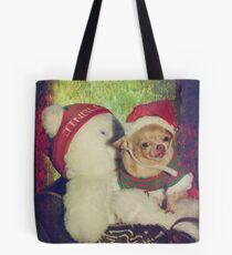 Zoe's Sleigh Ride Tote Bag