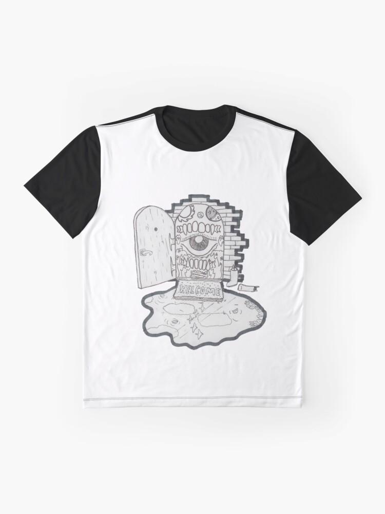 Alternative Ansicht von Willkommensmatte Grafik T-Shirt
