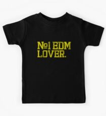 No.1 EDM (Electronic Dance Music) Lover. Kids Clothes