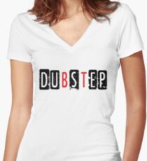 Dubstep  Women's Fitted V-Neck T-Shirt