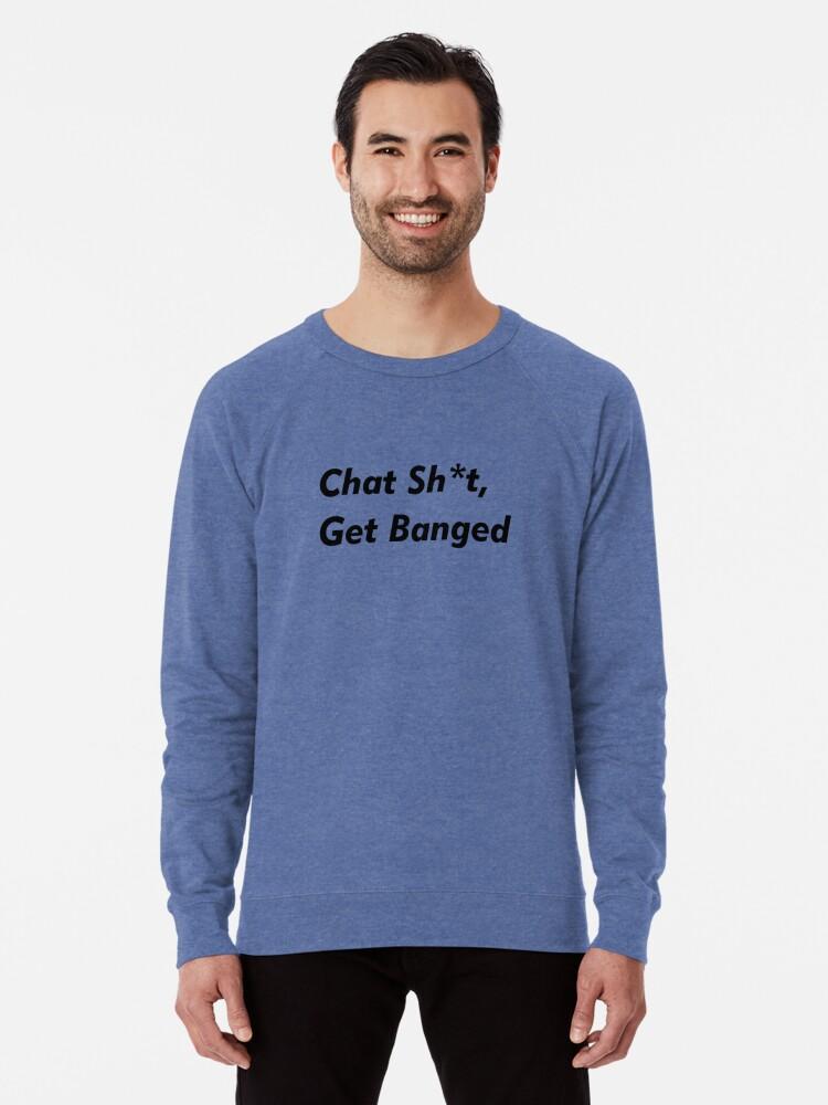 Chat S**t Get Banged Jamie Vardy Football Shirt Gift Fan Unisex Hoodie