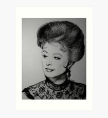 Kitty Russell Art Print