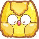 Lucky Owl Gold by TinySkye