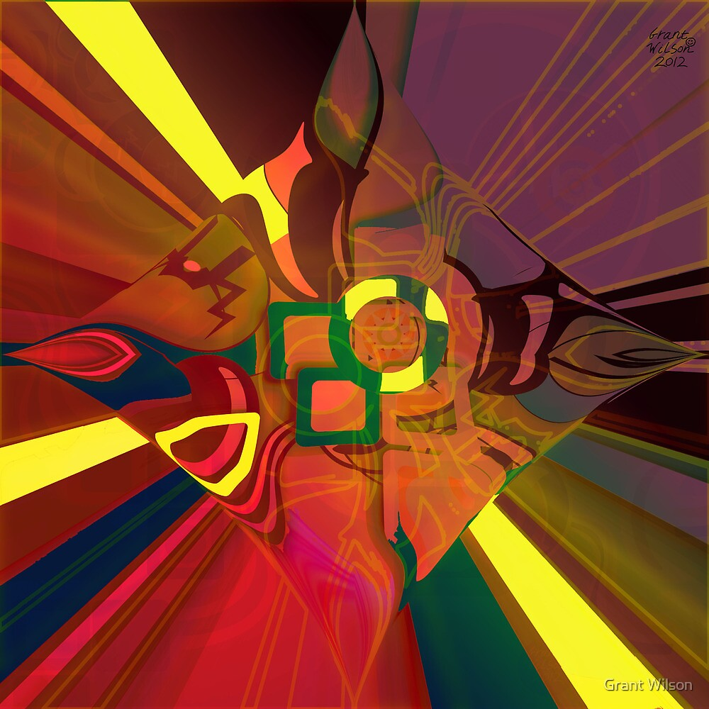 Abstract Light patterns by Grant Wilson