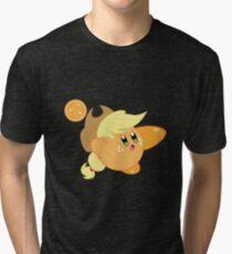 Kirby applejack Tri-blend T-Shirt