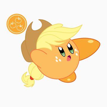 Kirby applejack by juanperu24