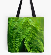 Green Focus Tote Bag