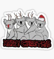 koala kristmas  Sticker