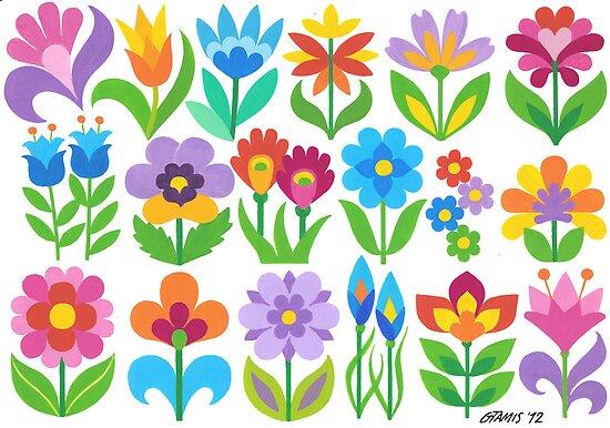 18 FANTASY FLOWERS by RainbowArt