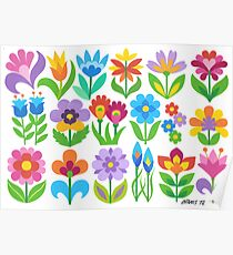18 FANTASY FLOWERS Poster