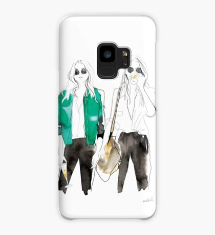 streetstyle green Case/Skin for Samsung Galaxy