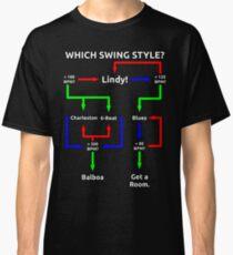 Swing Dance Flowchart Classic T-Shirt