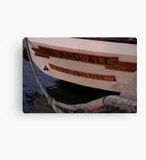 Stern One and All Canvas Print