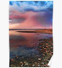Eufaula Sunset Reflections Poster