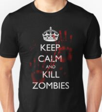 Keep Calm and Kill Zombies 4 T-Shirt