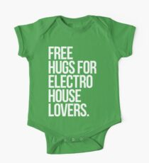 Free Hugs For Electro House Lovers. Kids Clothes