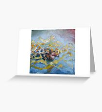 Water's Edge Sunset at Annapolis Sailing School Greeting Card