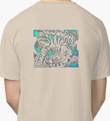 Tiger in Teal  After Franz Marc Classic T-Shirt