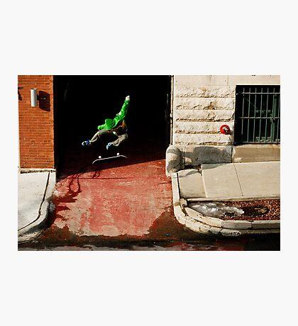 Neen Williams- Kick Flip- photo Ely Phillips Photographic Print