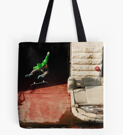 Neen Williams- Kick Flip- photo Ely Phillips Tote Bag