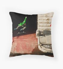 Neen Williams- Kick Flip- photo Ely Phillips Throw Pillow