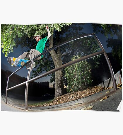 Silas Baxter-Neal - Front Feeble - Photo Sam McGuire Poster