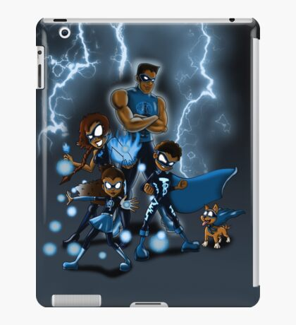 Family of Super Heroes  iPad Case/Skin