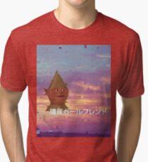 Camiseta de tejido mixto マ ッ キ ュ ュ ュ ュ ュ GNOMECHILD