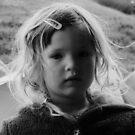 Child portrait B&W by melek0197