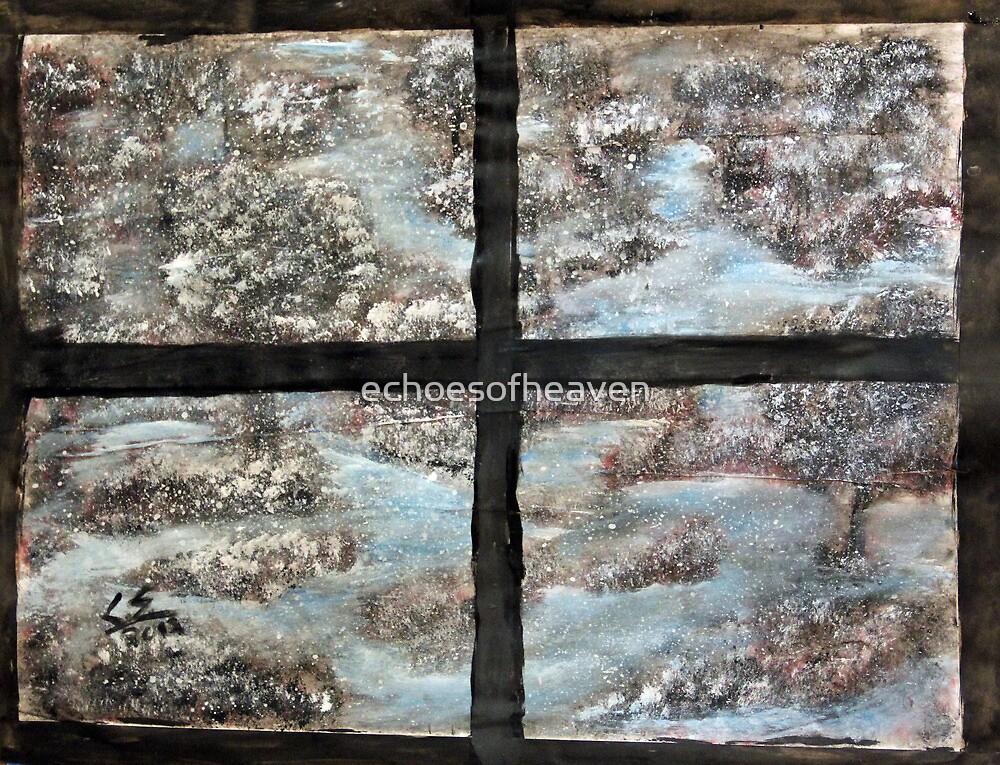 """Winter View""  by Carter L. Shepard by echoesofheaven"