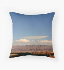 Lake Meadscape Throw Pillow