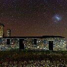 Kanyaka Ruin and Large Magellanic Cloud Galaxy by pablosvista2